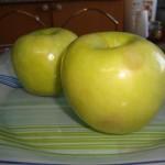 Запеченные яблоки с медом в духовке.
