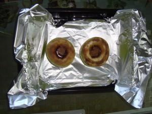 яблоки с медом в духовке